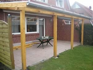 Holz überdachung Garten : vordach aus holz ~ Whattoseeinmadrid.com Haus und Dekorationen