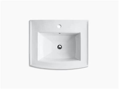 archer pedestal sink with single faucet hole k 2359 1