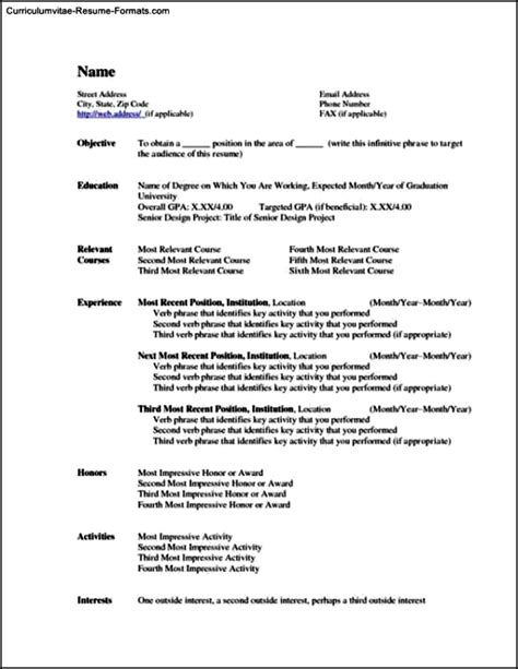 office 2010 resume template free sles exles