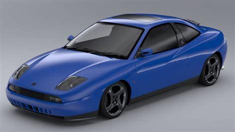 Fiat Coupe 20v Turbo 2000 3d Model Max Obj