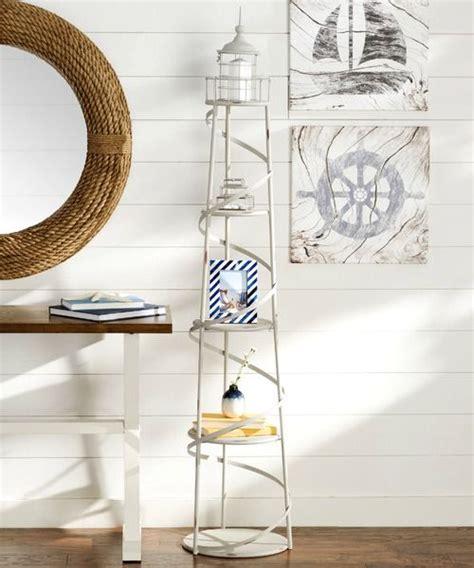 Regal Leuchtturm by Nautical Standing Floor Shelf Bookcase Diy