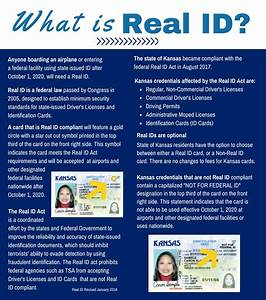 kansas department of revenue real id With documents for real id