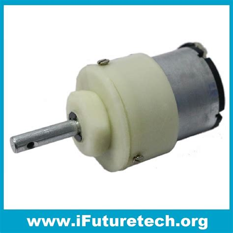 Gear Motor by Geared Motor 200 Rpm Ifuture Technology