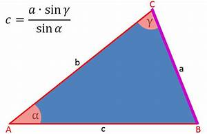Dreieck Seite Berechnen : sinussatz und dreieck berechnen eines dreiecks ~ Themetempest.com Abrechnung