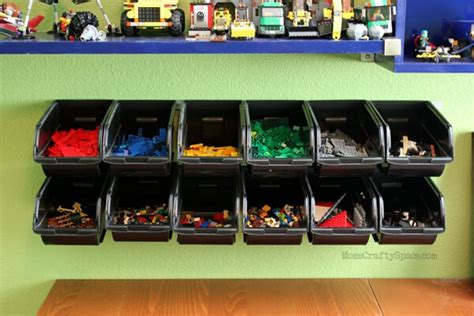 cheap easy lego storage organizer happiness  homemade