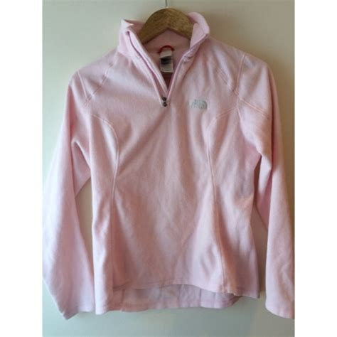 light pink north face fleece 77 off the north face outerwear the north face light
