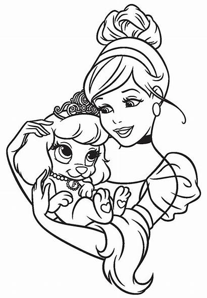 Coloring Pets Princess Pages Palace Disney Thundermans
