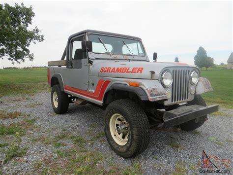 cj8 jeep 1982 jeep scrambler cj8
