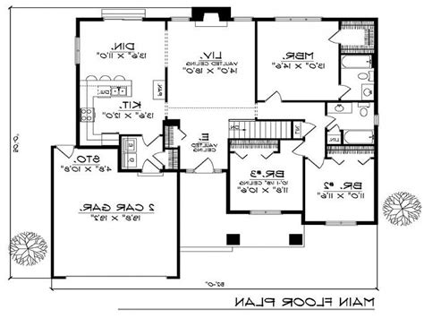 house plans 2 2 bedroom house plans with open floor plan 2 bedroom