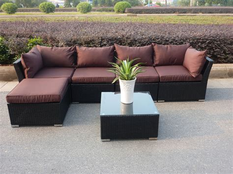 outdoor l shaped sofa l shaped seating around pit