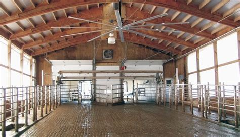 Agricultural Fans For Barns by Big Fans In A Barn Fit For A