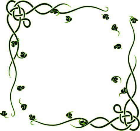 clipart frame leafy frame clip at clker vector clip