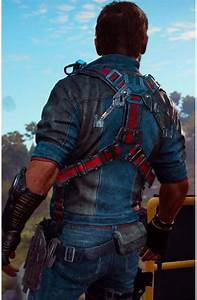 Video Game Just Cause 3 Jacket Rico Rodriguez Movies Jacket