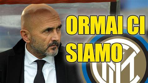 Tanto l'inter quanto l'allenatore pensano al proprio futuro. A quanto pare SPALLETTI sarà il nuovo allenatore dell'Inter - YouTube