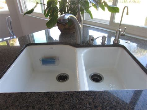 how to caulk a kitchen sink how to caulk your sink diy inspired 8524