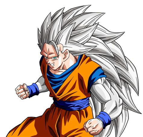 Gohan Super Saiyan 2 Wallpaper Goku Ssj5 Base Render By Lewildgoku On Deviantart