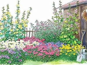 Gartengestaltung Bauerngarten Bilder : ein bauerngarten beet zum nachpflanzen mein sch ner garten ~ Markanthonyermac.com Haus und Dekorationen