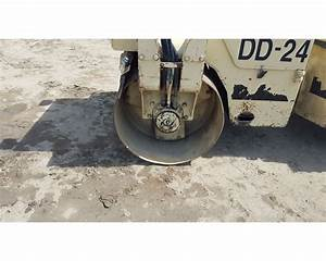 Ingersoll-rand Dd24 Compactor    Roller For Sale - Colton  Ca