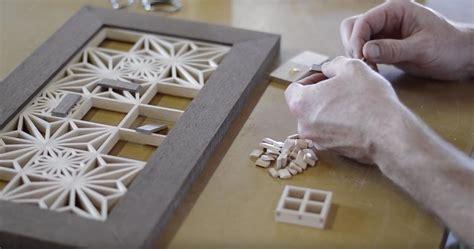 kumiko wall art japanese woodworking kumiko  beginners