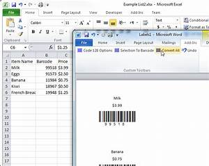 create barcode labels in word made by creative label With create barcode in word