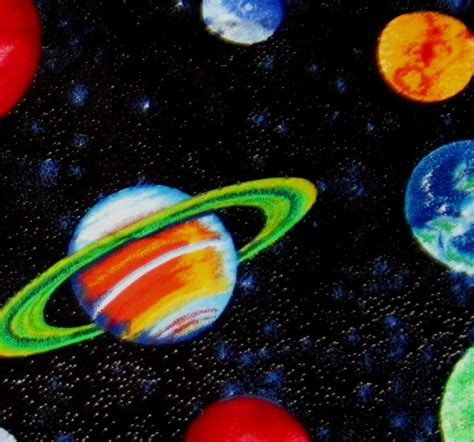 Planets Outer Space Galaxy Universe Milky Way Stars Ebay