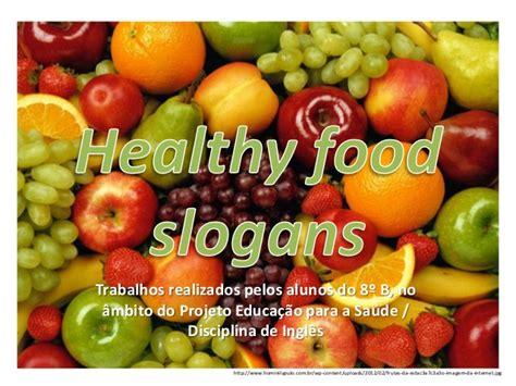 slogan cuisine healthy food slogans
