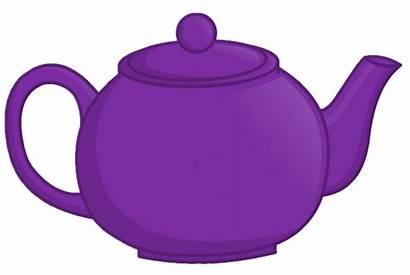 Teapot Object Clipart Tea Pot Transparent Purple
