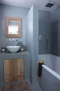 gain de place petite salle de bain sur pinterest cote With petite salle de bain douche et baignoire