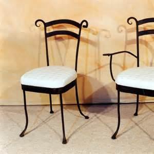 chaise de salle 224 manger en fer forg 233 pour int 233 rieur fabrication artisanale villa m 233 lodie