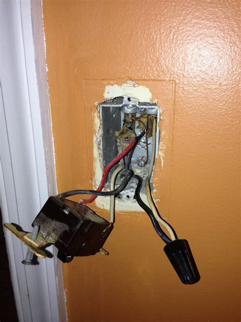 confusing   switch wiring     convert
