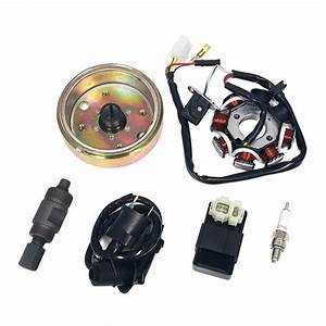 Bundle Ignition Repair Kit Gy6 Scooter Moped Atv 50cc 80cc