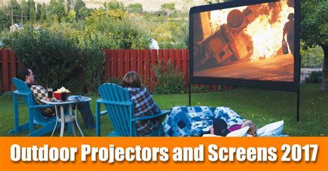 outdoor  hq backyard movies screens  projectors