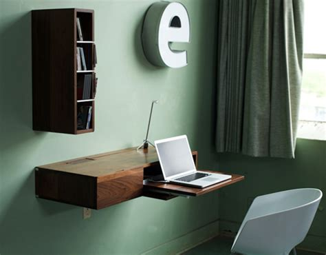 wall mounted pull out desk fold down slide up simple wall mounted wood mini desk