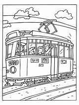 Coloring Tram Kleurplaat Nl Kleurplaten Oude Pages Vervoer Van Knutselen Kinderen Een Prints Tablemat Parenting Afkomstig sketch template