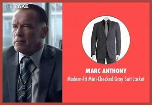 Arnold Schwarzenegger Marc Anthony Modern-Fit Mini-Checked ...