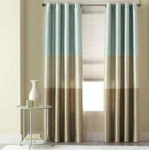 studio curtains drapes jcpenney studio trio grommet lined horizontal stripe panel