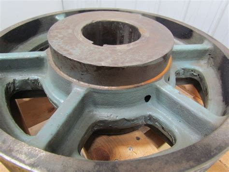 Vintage Industrial Brake Press Band Brake Drum 16