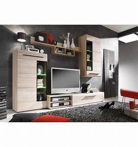 Meuble Mural Chambre : photo armoire de chambre avec tv ~ Teatrodelosmanantiales.com Idées de Décoration
