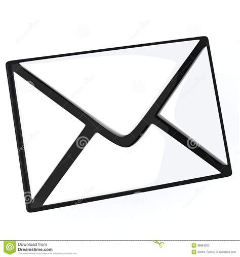 Letter Email Symbol 3d Stock Illustration Image: 38884200