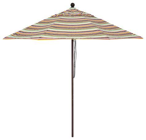 striped patio umbrella malibu contemporary outdoor umbrellas