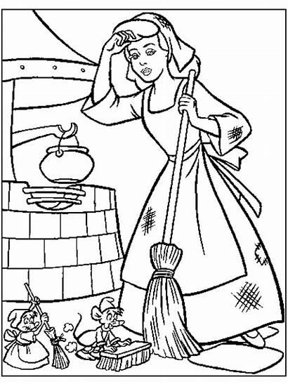 Cinderella Princess Coloring Pages