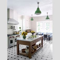 Bunny Williams  Stunning Kitchen With White Shaker