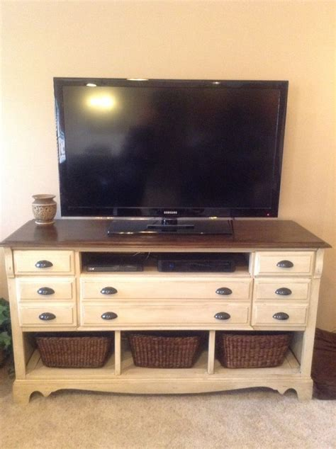 dresser with tv stand 25 best ideas about tv stands on recycle