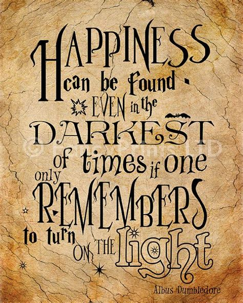 Dumbledore Light Quote 61 most dumbledore quotes from harry potter