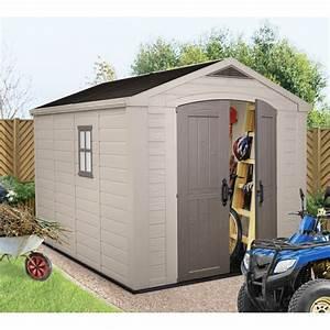 Abri Jardin Keter : abri de jardin en r sine sydney 8 08m plancher keter ~ Edinachiropracticcenter.com Idées de Décoration