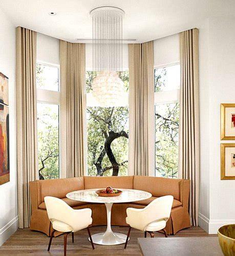 arrange furniture   bay window  ideas