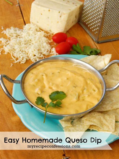 easy dips easy queso dip recipe dishmaps