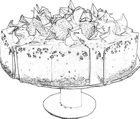 Juwelenkist Kleurplaat by Kleurplaat Cake Artismonline Nl