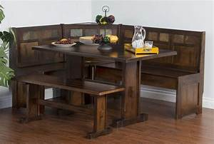 Corner Breakfast Nook Table Images Bar Height Dining