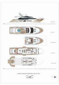 Drettman DMY 32 Deckplans Arcon Yachts